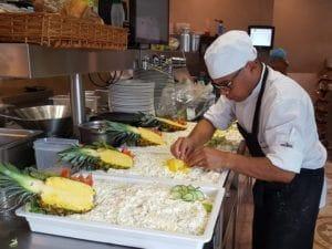De Rietschans Haren kok salade bbq