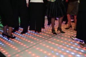 De Rietschans bedrijfsfeest led dansvloer
